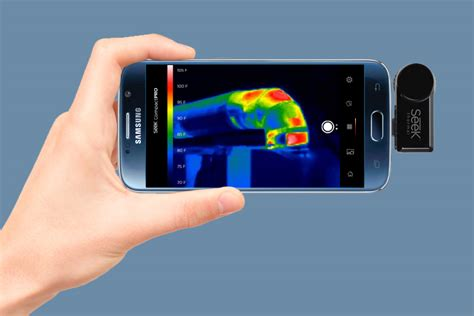 thermal smartphone this tiny gadget turns your smartphone into a thermal