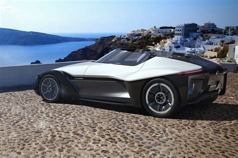 nissan electric sports car nissan bladeglider electric sports car puts efficiency