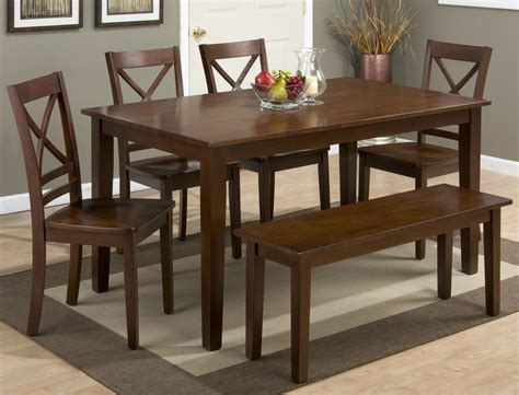 rectangle dining table and chairs rectangle dining table and quot x quot back chair set with bench