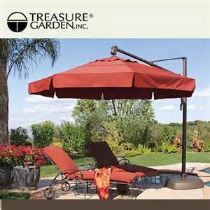 Umbrella Patio A Treasure Garden Umbrella Patio Umbrellas Pinterest