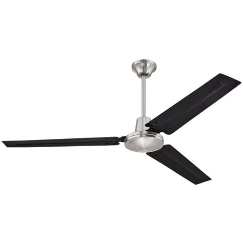 westinghouse industrial ceiling fan westinghouse industrial 56 in indoor brushed nickel