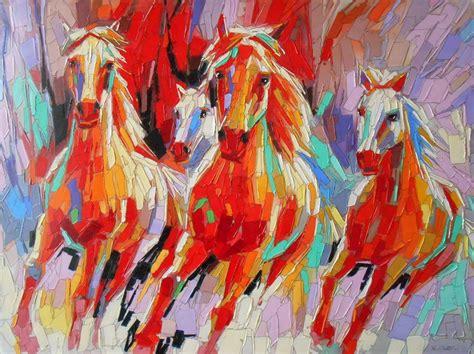 imagenes artisticas pinturas cuadros modernos pinturas y dibujos briosos caballos