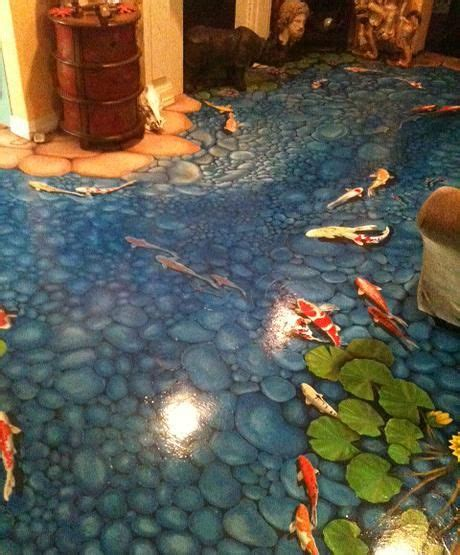 3d Floor Paintings by 3d Flooring Painting A Guide To Installing Epoxy Floor Designs