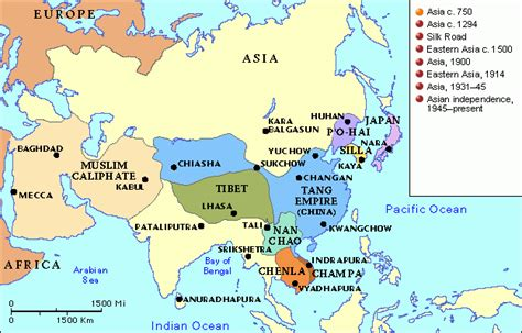 asia map atlas grolier atlas