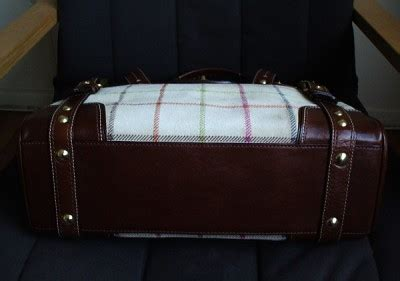 Coach Htons Suede Plaid Carryall by Coach Htons Lg Vintage Plaid Suede Tattersall Carryall