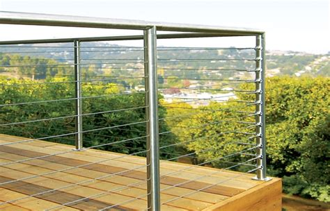 Stainless Steel Deck Railing by Cable Railing Ideas Cable Deck Railing And Staircase Design