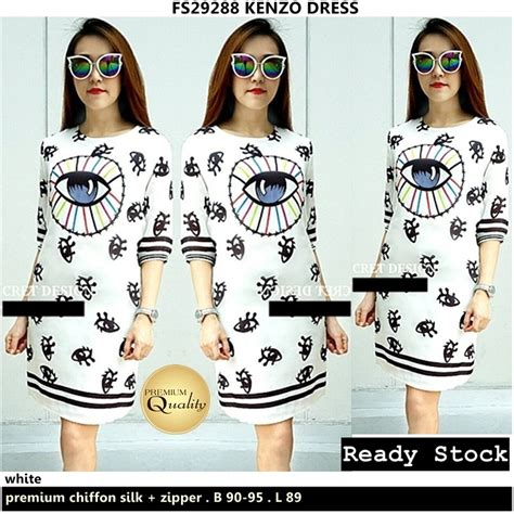 Dress Premium Quality 223 kenzo dress supplier baju bangkok korea dan hongkong