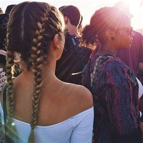 two big plaits hairstyle best 25 two french braids ideas on pinterest