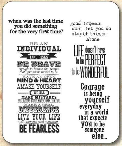 rubber st phrase tim holtz cling rubber st set way with words