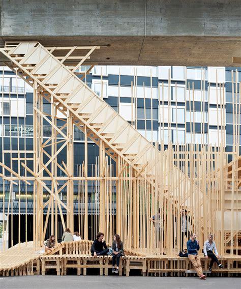 design technology lab zurich alice laboratory builds a public architectural forum in zurich