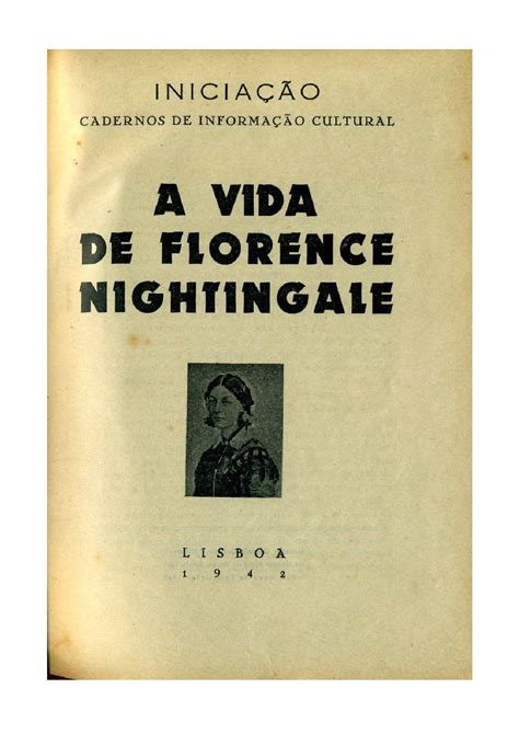 How To Make Florence Nightingale L by Calam 233 O A Vida De Florence Nightingale