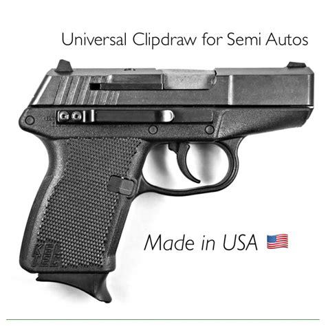 clipdraw universal  semi autos slim minimal concealed carry iwb