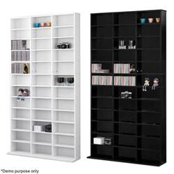 1116 cd media storage shelf unit dvd shelves rack bookcase