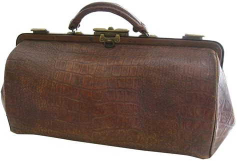 vintage leather doctor s bag omero home