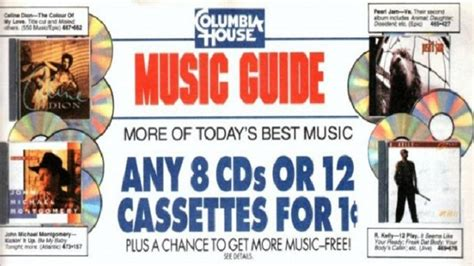 columbia house music cds the fallacy of closers hands free marketing rich obrien blog