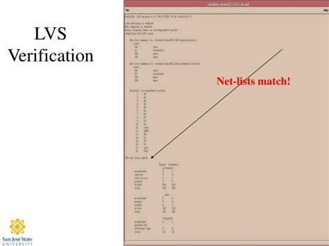 layout versus schematic verification report cadence lvs ppt 4 bit carry look ahead adder powerpoint presentation