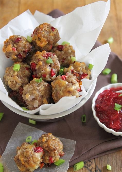 Running To The Kitchen by Cranberry Cheddar Sausage Bites Running To The Kitchen