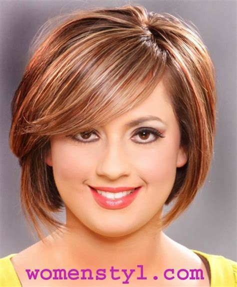 Hairstyles for round face shape women style flattering hairstyles