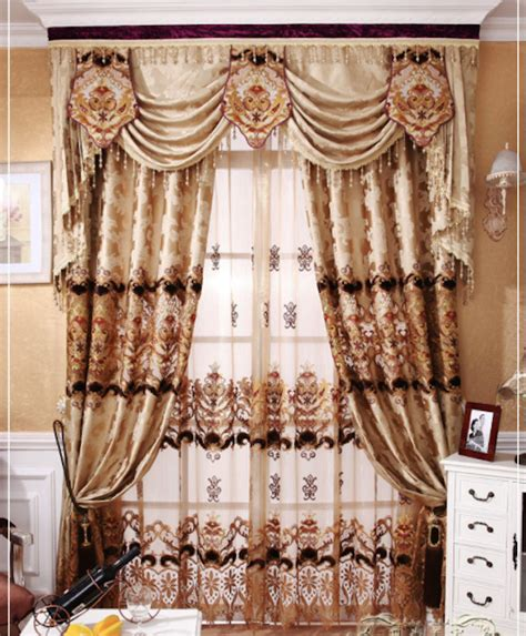 European Style Curtains Luxury Curtain Fabric Curtain Menzilperde Net