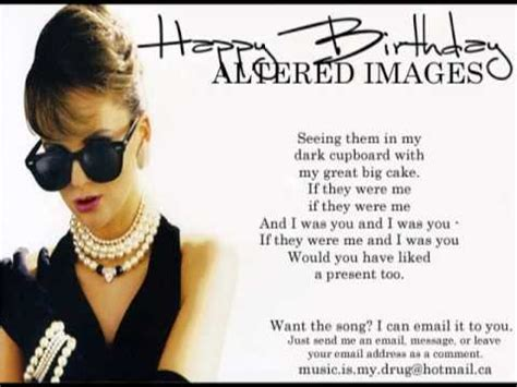 happy birthday altered images mp3 download 4 07 mb free song lyrics happy birthday altered images