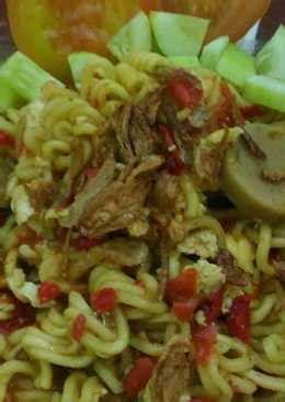 resep indomie rebus enak  sederhana cookpad