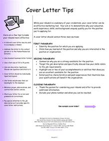 tips for a great cover letter cover letter 13348 7