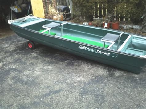 flat bottom boats for sale in michigan i am looking for a 12 foot coleman crawdad flatbottom boat