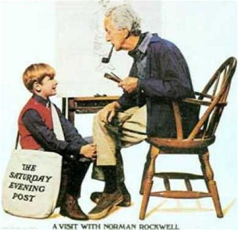 a visit with norman rockwell norman rockwell pinterest