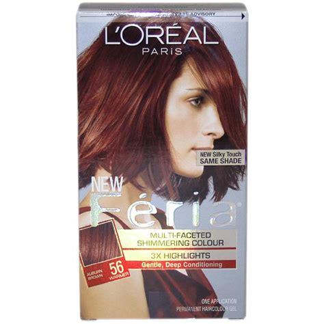 fiera hair color l oreal feria multi faceted 56 auburn brown hair color