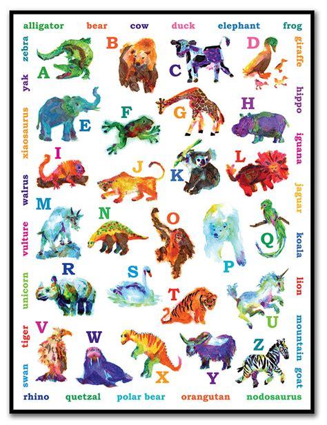 printable animal poster 35 best printable alphabet posters designs free