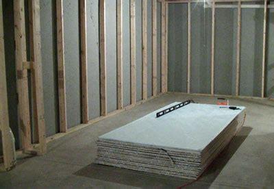 residential construction drywall installation