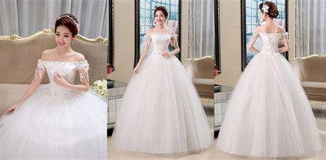 harga gaun pengantin import bridesmaid pesta prewedding biru murah id priceaz