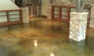 Stained concrete flooring traditional flooring st louis by