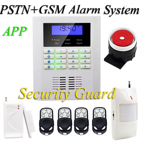 free shipping new sales wireless home security alarm