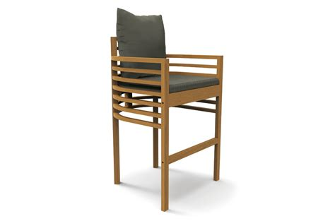 teak bar stools spade teak bar stool mecox gardens