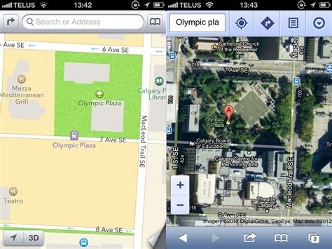 apple maps for android this just in maps blows away apple s ios 6 maps