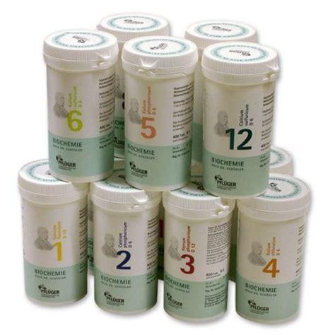 schüssler salze schlafen sch 252 ssler salze a pflueger nr 1 bis 12 400 tabletten