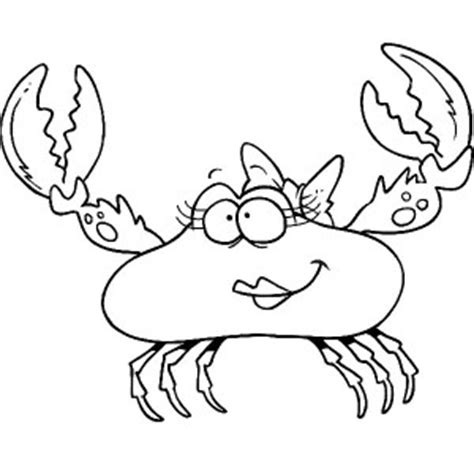 ghost crab coloring page fiddler crab coloring page outline clip art hermit pages