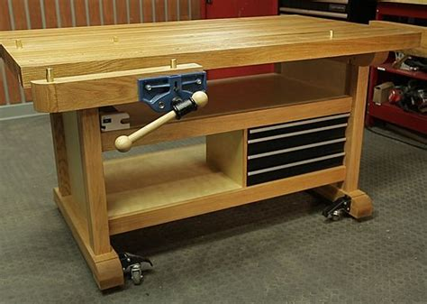 custom woodworking benches craftsman club community custom workbench diy