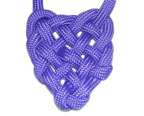 heart macrame pattern heart pendant