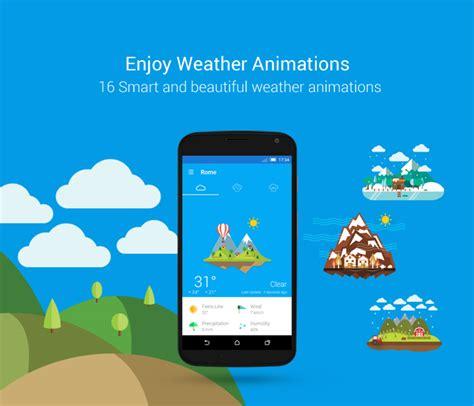 popular apps for android best weather apps for android october 2015 aw
