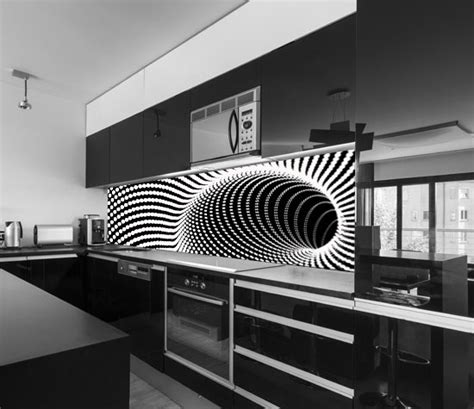 modern kitchen backsplash designs fantastic 3d kitchen backsplash designs on glass panels
