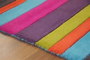 orange and pink rug colourful pink orange blue green purple modern stripe