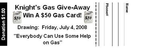 gas card raffle ticket template pin how print raffle tickets using templates ehow