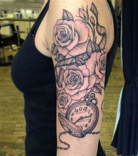 rose sleeve tattoos for girls arm tattoos for tattoos for