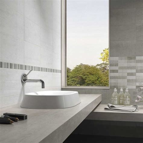 Tile Korea Bordir 1 40x5cm annabella gris border tiles border tiles wall tiles tile choice