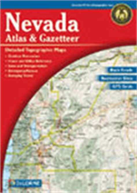 nevada road map atlas nevada county map nv counties map of nevada