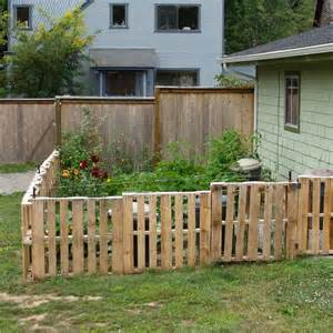 Cheap Backyard Fence Ideas Fencing On Pallet Fence Fence And Brick Walls