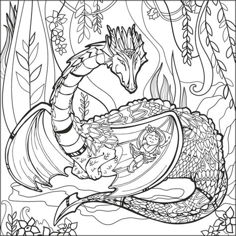mythical dragons coloring pages 787 best fantasy coloring pages for adults images on