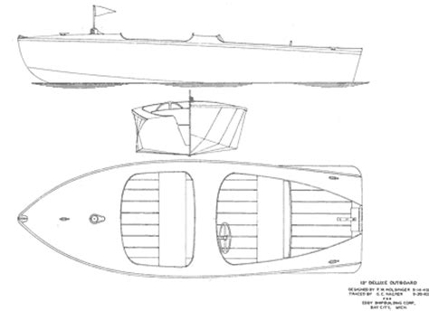 small boat blueprints boat